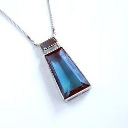 サフィレット サフィレットガラス ネックレス