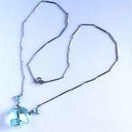 JYN-116 ウランクリスタルガラス ネックレスサムネイル